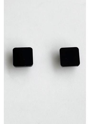 Takıştır Küpe Siyah